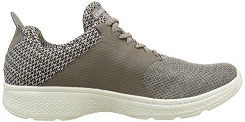 Skechers Herren GOwalk 4 - Instinct Sneaker Taupe