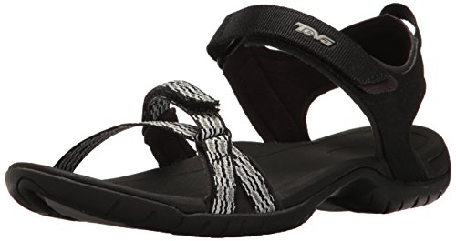Sports Teva and Sandal Modern Black Outdoor Verra Women's White Stripes aww4qxEAr