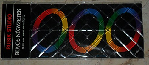 Original Rubik Studio 8 Panel Magic Link The Rings Puzzle ()