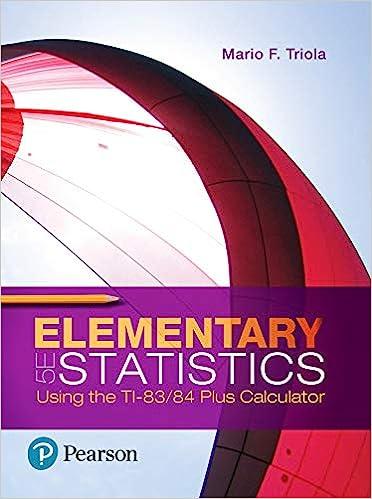 Elementary Statistics Using the TI-83/84 Plus Calculator by Triola