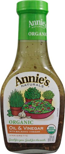 Annie's Naturals Organic Dressing Oil and Balsamic Vinegar -- 8 fl oz - 2 pc 1