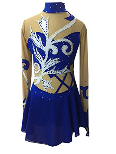 [Fashion Custom Figure Skating Dresses Women Ice Skating Competition Dresses With Crystals A2179] (Ice Skating Dress Costumes)