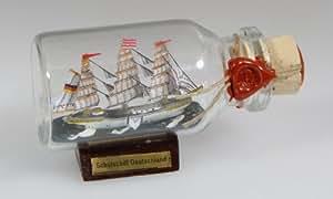 Buddel-Bini - Mini barco embotellado (10 ml, 5 x 2 cm)