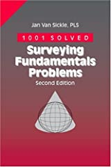 1001 Solved Surveying Fundamentals Problems Paperback