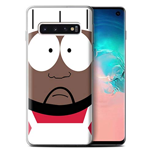 eSwish Gel TPU Phone Case/Cover for Samsung Galaxy S10 / Chef Design/Funny South Park Inspired Collection (South Park The Stick Of Truth Chef)