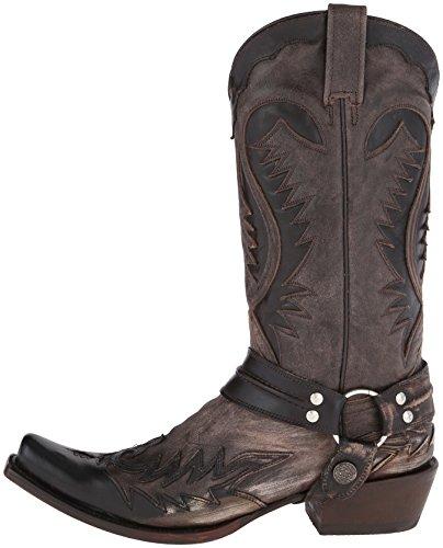 8f03f35f2c6 Stetson Men's Snip Toe Harness W/ Bleach Boot