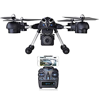 Contixo F10 RC Quadcopter Drone with, Headless Mode, 2.4GHz, 4 Channel, 6 Axis Gyro RTF, Support GoPro HERO Cameras