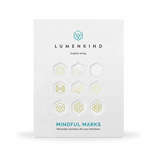 Mindful Marks, Wearable Reminders for your Intentions (Gold)
