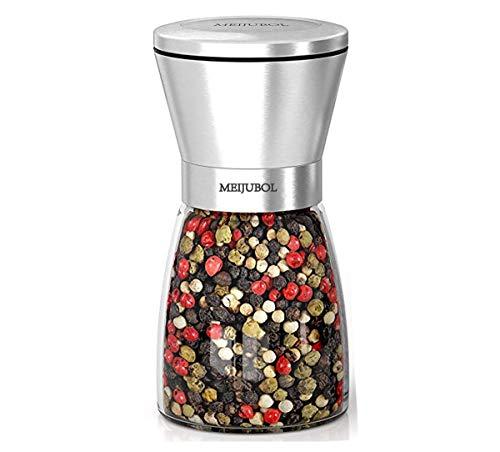 (MEIJUBOL Pepper Grinder Salt Shaker (5.5