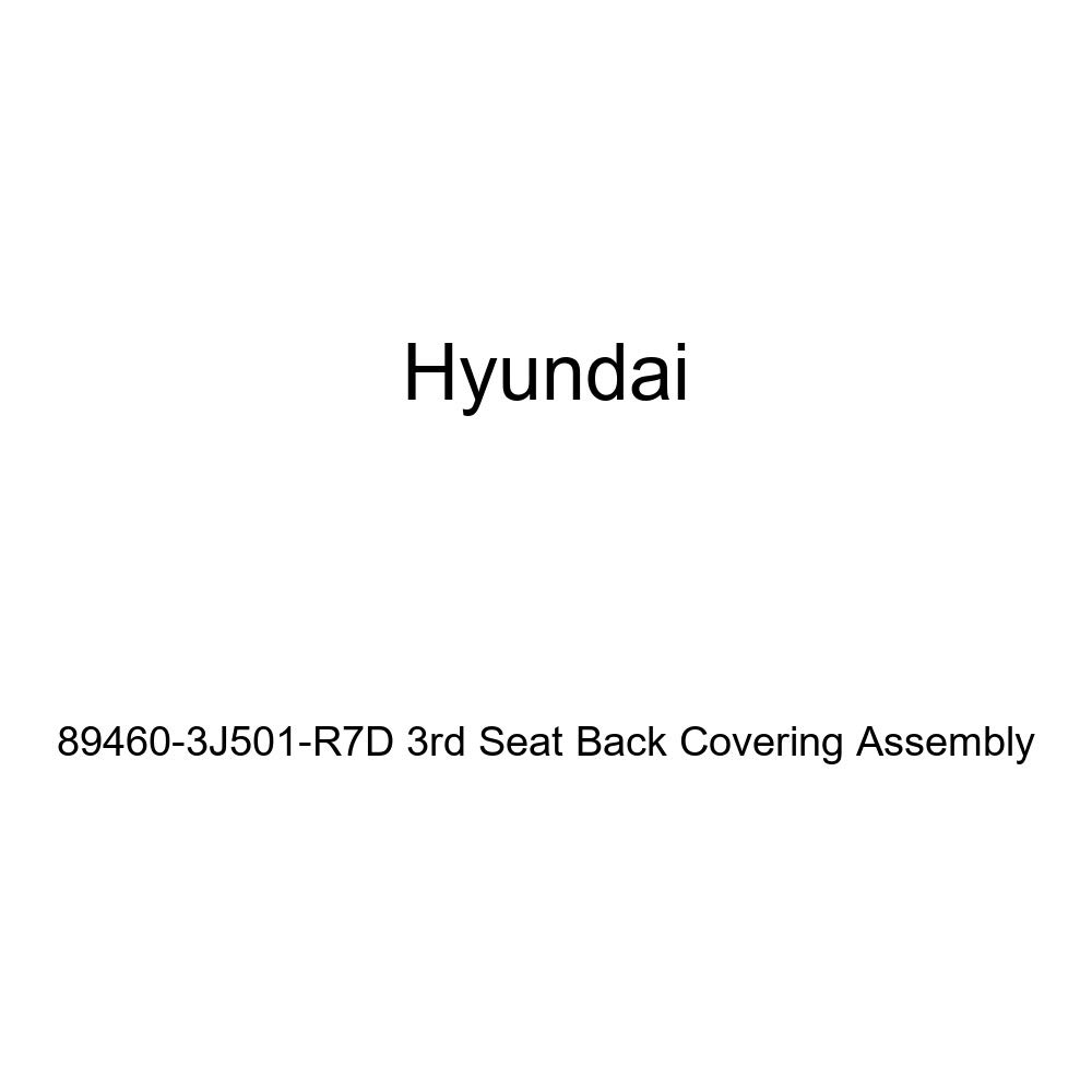 Genuine Hyundai 89460-3J501-R7D 3rd Seat Back Covering Assembly
