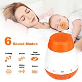 Baby Sound Machine, Girl Hush Portable Small White Noise Sleep Rest Travel Night
