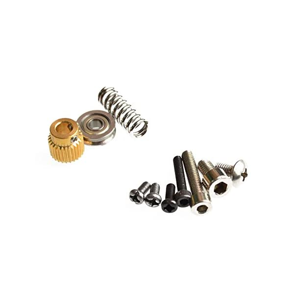 1 set mk8 extruder aluminum block diy kit dedicated single nozzle extrusion head aluminum block