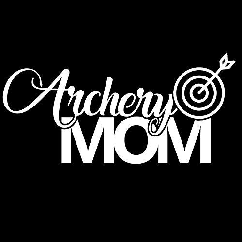 (Archery Mom Sports Vinyl 6 Inch Decal -)