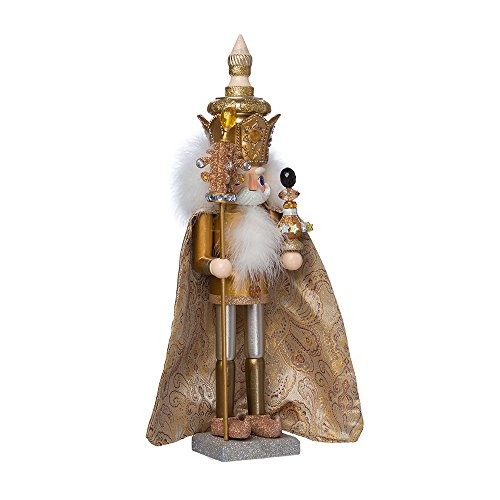 Kurt Adler 18-Inch Hollywood Gold King Nutcracker