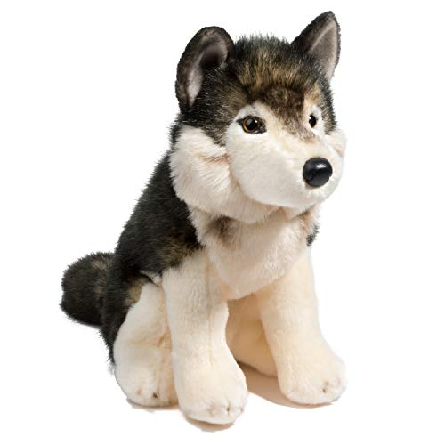 Douglas Cuddle Toys Atka Wolf
