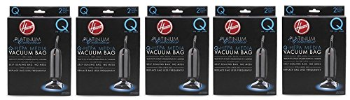 Hoover AH10000 Platinum Type-Q HEPA Vacuum Bag, Five - Hoover Platinum Type Q