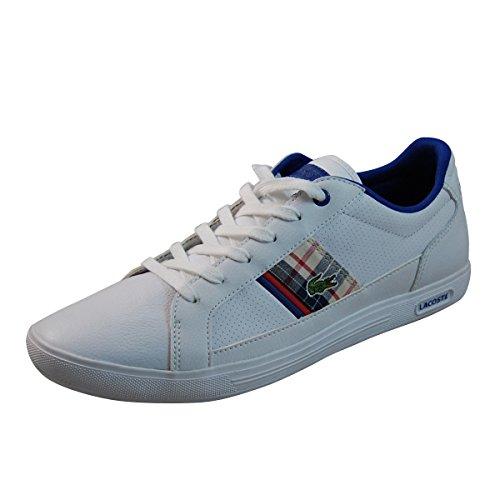 Lacoste Europa PCH SPM Mens fashion sneakers Model 6SPM2369WR1 Wht/Dk Blu/Red q4YW0UM