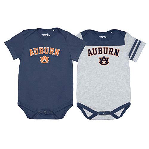 Elite Fan Shop Auburn Tigers Infant Onesie 2 Pack - 12M - ()