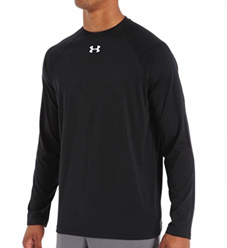 Long Sleeve Replica Jersey - Under Armour Mens UA Locker Long Sleeve T-Shirt X-Large Black