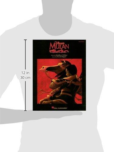 Mulan (Easy Piano Songbook): Matthew Wilder, David Zippel ...