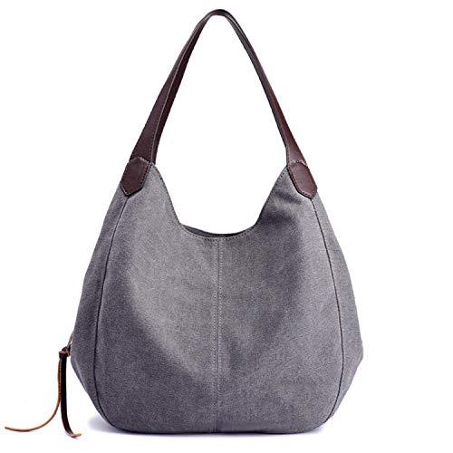 Moderne Lady Black Mode Girlbag De Sunonip Cute Main Loisirs Toile À Sac La En Pour Femme ZYSg6wqP