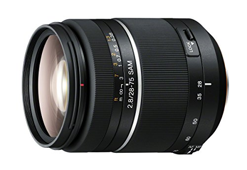 Sony 28-75mm f/2.8 Smooth Autofocus Motor (SAM) Full Frame Lens for Sony A-mount Digital SLR Cameras
