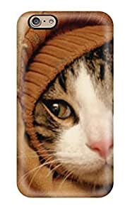 Hot Fashion HXAVufI12761nzWuK Design Case Cover For Iphone 6 Protective Case (cat On A Sleeve Jacket)