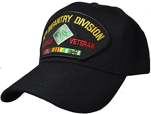 4th Infantry Division Vietnam (4th Infantry Division Vietnam Veteran Cap)