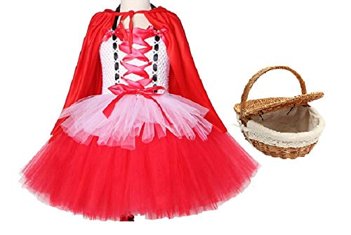 Chunks of Charm Red Riding Hood Costume Inspired Dress from (Dress/Cape 8)