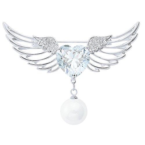 Pearl Heart Pin - 7
