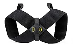 Spud Casual Bowtie Posture Support Brace Corrector No Rounded Shoulders Donnie Thompson (2XL: 255 lbs. – 275 lbs.)