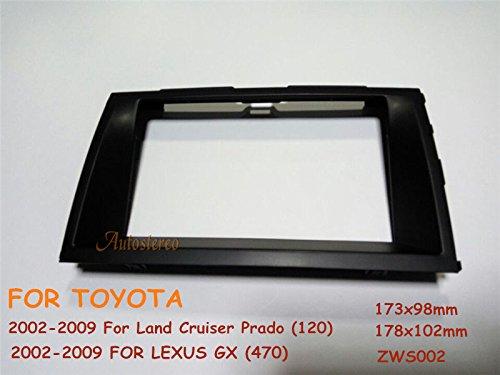 Autostereo Car Stereo Panel Plate Fascia Facia Surround Radio For LEXUS GX 470 TOYOTA Prado Car Radio fascia Facia Panel LEXUS GX 470 Stereo Fascia Dash CD Trim Installation Kit