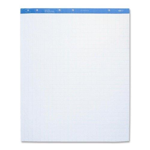 "UPC 035255007917, Wholesale CASE of 5 - Sparco Quad Ruled Standard Easel Pad-Standard Easel Pad, 1"" Quad, 27""x34"", 40 Shts, 4/CT, White"
