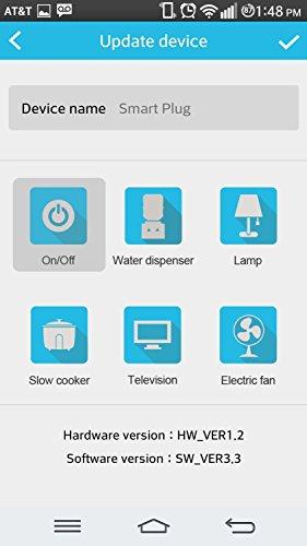 Amcrest Connect Energy-Saving WiFi Smart Plug AH357 (USA