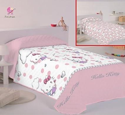Copriletto Singolo Hello Kitty.Hello Kitty Angels Copriletto Per Letto Da 90 Cm Amazon It