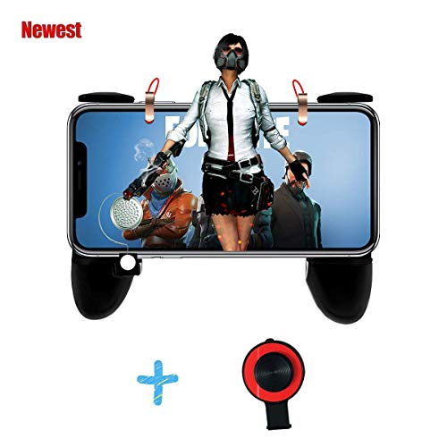 PUBG Mobile Controller, Sensitive Shoot Aim Trigger Fire Buttons L1R1 Joystick Knives Out Rules of Survival for Android IOS