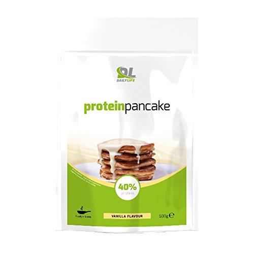 2 opinioni per DL Protein Pancake preparato con 40% di proteine (mix di Avena, Whey Protein e