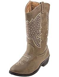 Girls Western Cowboy Boot (Toddler, Little Kid, Big Kid)