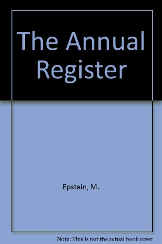 New Annual Register - 5