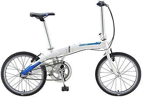 Dahon Curve D3 Bicicleta Plegable, Curve D3, Blanco: Amazon.es ...