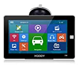 Car GPS Navigation Systems Xgody 720 Commercial GPS Navigator Car 7 Inch Touch