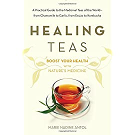 Healing Teas: A Practical Guide to the Medicinal Teas of the World -- from Chamomile to Garlic, from Essiac to Kombucha 4 A complete guide to medicinal teas from around the world and their amazing healing powers For thousands of years, cultures throughout the world have known the healing power of teas.  Tea has been used as a holistic treatment for a host of illnesses, from arthritis to migraines, and is a time-tested all natural path to overall health and wellness. Healing Teas is a complete, easy-to-follow and informative guide, blending together proper methods of preparing teas with the latest scientific research into their homeopathic qualities. Healing Teas also provides a unique A-Z guide to herbs, individual brews, and home remedies. From essiac to kombucha, chamomile to garlic, learn to prepare teas from around the world—and maximize your health.