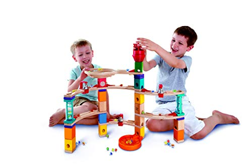 Used, Hape Castle Escape - Quadrilla Wooden Marble Run - for sale  Delivered anywhere in USA