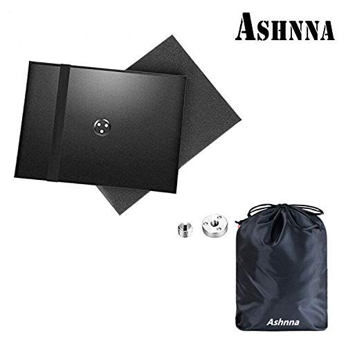 Projector Tray, Laptop Tray Widely Use in Meeting Rooms, Outdoor, Classrooms, Lecture Halls, Tray for 1/4'' to 3/8'' Screw Tripod Stand Mount, by Ashnna by Ashnna