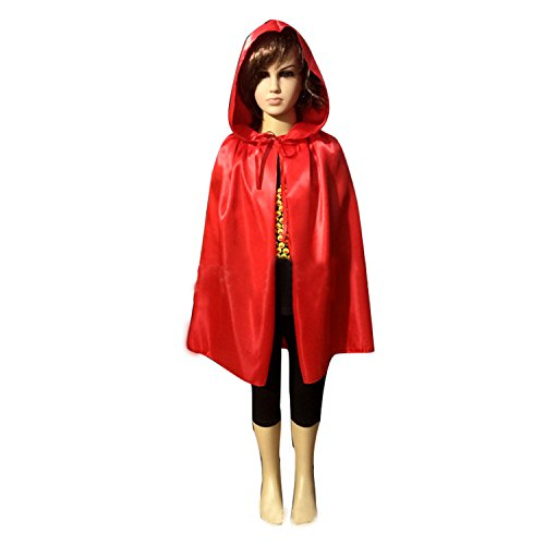 WESTLINK Cloak with Hood Costume Hooded Cape (23 - 66 inches)]()