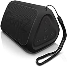 OontZ Angle Solo : Super Portable Bluetooth Speaker Compact Size Delivers Surprisingly Loud Volume and Bass 100' Wireless Range, IPX-5 Splashproof Perfect Travel Speaker Black with Lanyard