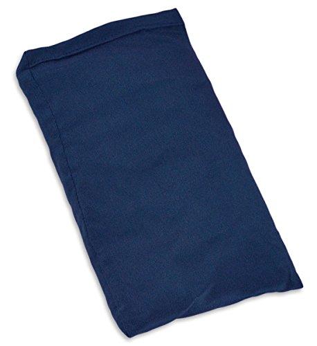 YogaAccessories Small Silk Eye Pillow (Unscented) - Twilight Blue