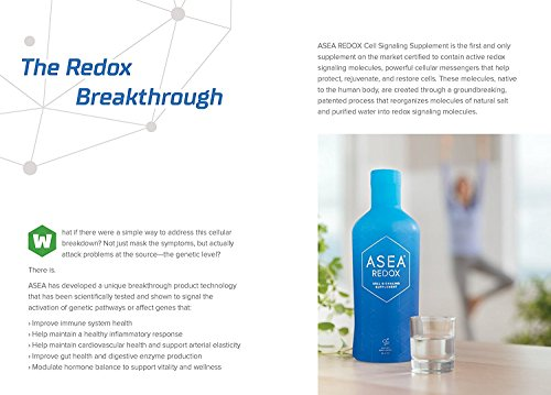 ASEA REDOX Cell Signaling Supplement (4X32 fl. oz. Bottles) with RENU 28 (10mL) Bundle by Asea (Image #3)