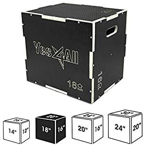 Yes4All-Wood-Plyo-BoxWooden-Plyo-Box-for-Exercise
