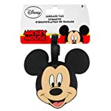 Disney Mickey Mouse Luggage Tag, International carry-on, Black